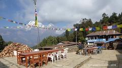 P1110003 As we leave Deorali at 12-35AM .... clouds are there at Annapurna (ks_bluechip) Tags: nepal trek dec2016 annapurna abc mbc landruk tolga pitamdeorali pothana