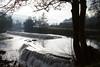 Good Bye 2016, Welcome 2017! (smir_001 (on/off)) Tags: winter december river avon water waterfall waterfalls claverton pump station bath england somerset canoneos7d tree landscape weir warleighweir bathnes reflection polariser british clavertonpumpstation britishrail trains