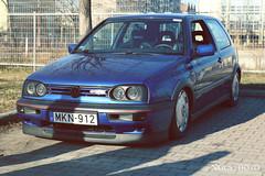 Volkswagen Golf GTI (NGcs / Gábor) Tags: car volkswagen german vw golf gti mk3 a3 lowered tucked mark3 mkiii