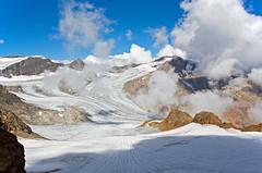 Übeltalferner glacier, Stubai Alps, Austria