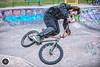 Air time (alun.disley@ntlworld.com) Tags: stunt cycle skatepark bmx action people graffiti urban skill newbrighton wirral merseyside northwestengland uk publicparksandopenspaces fence