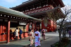 Asakusa Snap - Temple (H.H. Mahal Alysheba) Tags: asakusa temple snapshot wide japan people tradition nikon d800 carlzeiss zeiss distagon 28mmf2