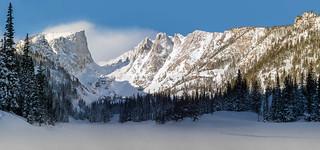Dream Lake - Winter Beauty