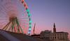Antwerp on a cold winterday (grepe) Tags: antwerpen reuzenrad cityscape evenement kermis ~type ~waar ~wat evening ferrieswheel