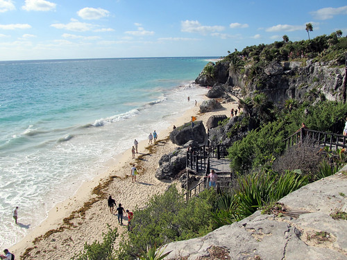 Tulum Cliffs and Beach 2