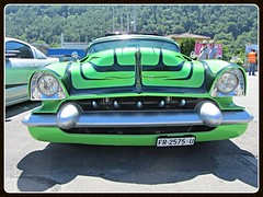 """VooDoo Kreeper"" _ Chevrolet 210, 1953 (v8dub) Tags: voo doo kreeper chevrolet 210 1953 chevy schweiz suisse switzerland valais american pkw voiture car wagen worldcars auto automobile automotive gm old oldtimer oldcar klassik classic collector kustom custom leadsled"
