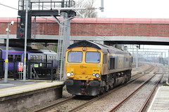 66742 (Liam Blundell Photography) Tags: gbrf class 66 66742 roby tuebrook crewe bas hall train old new railway 319