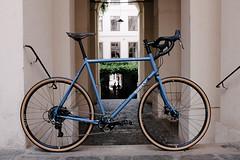 Surly Disctrucker (Citybiker.at) Tags: surlysociety surlybikes longhaultrucker disctrucker tubus buschmueller compasstires 1x11 bicycletouring downtubeshifter wtb mkslambda brooksengland brookscambium cambiumc17 sram shimano