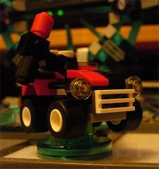 Lego Dimensions Quinn-mobile (Doc Nero) Tags: lego dimensions dc movie sonic hedgehog midway ninjago doctor who arcade spy hunter joker batman tardis dalek