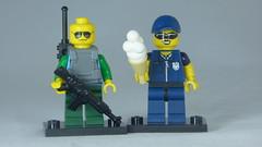 Brick Yourself Custom Lego Figure Customs Officers