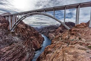 The bridge over Colorado river