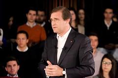 Pedro Passos Coelho no Debate Fórum Jovem