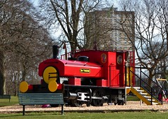 Mr Therm (chdphd) Tags: seatonpark train playground aberdeenshire aberdeen andrewbarclaysaddletankloco andrewbarclay saddletank saddletankloco andrewbarclaysaddletanklocomotive saddletanklocomotive locomotive seaton park