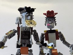 HTWWF! Love! (monsterbrick) Tags: lego moc love dawn miners howthewestwasfun prospector