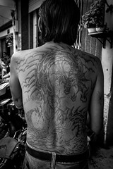 Tattoo (tumivn) Tags: tattoo chinatown saigon vietnam vietnamese a99ii zeiss1635