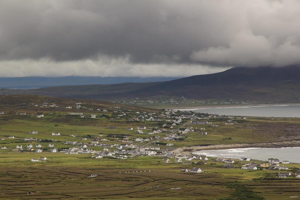 A Beach In The Village Of Dooagh On Achill Island