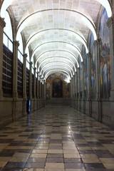 (garciaprieto2013) Tags: hall aisle monastery sanlorenzo monasterio pasillo elescorial