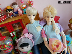 Pastel twins (wave:)) Tags: ball doll pastel bad cho joint migidoll