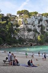 DSC_0196 (L.Karnas) Tags: sea beach strand island islands spain mediterranean playa menorca cala spanien minorca balearic inseln mittelmeer galdana balearische