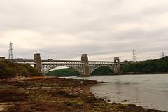 Britannia Bridge, Menai Strait, Anglesey, North Wales. (MarkWoods2) Tags: bridge wales anglesey northwales menaistrait britanniabridge