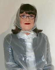Pakamac (Miss Pakamac) Tags: plasticraincoat plasticmac vinylraincoat pakamac vinylmac