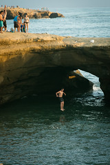 284 (nelson.kimberli) Tags: ocean california travel sunset sandiego sunsetcliffs cliffdivers daredevils luscombspoint