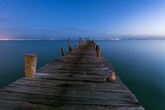 Going away (Xavy Vp) Tags: ocean blue sky lighthouse azul sunrise mexico faro mar nikon amanecer cielo punta cancun vp caribe caribean xavy nilkon 1224mmf4 d7100