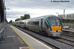 22008+22050 pass Kildare, 16/9/15 (hurricanemk1c) Tags: irish train rail railway trains railways irishrail rok rotem kildare 2015 icr iarnród 22000 22008 éireann iarnródéireann 3pce