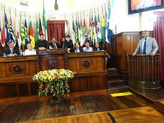 Discurso de agradecimento do senador Romário