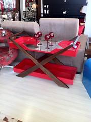 Aparador Bandeja Vermelho (Mara Design) Tags: vermelha taas taa