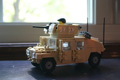 M1151 HMMWV (ModernBrix) Tags: army us google war lego military iraq legos humvee hmmwv armored carrier moc gpk brickarms m1151