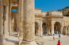 Library Columns & Gate (hecticskeptic) Tags: turkey ephesus libraryofcelsus templeofhadrian bouleuterion nymphaeumtraiani markamorgan