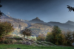 Pizzo Badile 4 (sandra_simonetti88) Tags: italien autumn italy fall italia herbst autunno lombardia italie pizzobadile valcamonica vallecamonica capodiponte