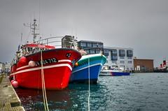 port de commerce Brest grande marée d'octobre (menez.gilles) Tags: bretagne finistere brest port judine marée ship quai bateau mer harbour dock