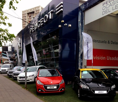 Peugeot dealership - Santiago, Chile