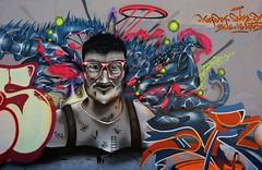 La Rochelle, graffiti Le Gabut (thierry llansades) Tags: art painting graffiti la graf spray urbanart graff aerosol bombing rochelle grafs charentemaritime aunis