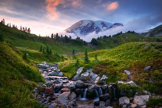 Edith Creek Sunset