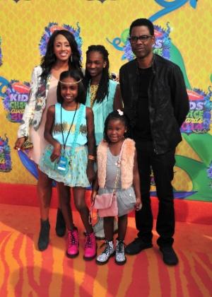 Comediante Chris Rock descobre não ser o pai legal de sua filha adotiva