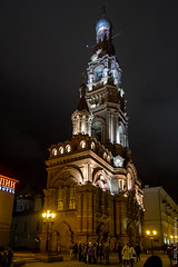 IMG_6501 (Denis Anikin) Tags: russia ru kazan ночь город церковь казань баумана respublikatatarstan