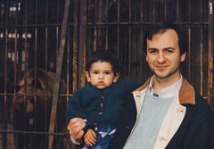 The Most Happy Fella (Robert Barone) Tags: italy rome roma robert film vintage zoo italia paolo kodak nostalgia 1992 nineties 90s fotodepoca anni90 robertbarone paolobarone