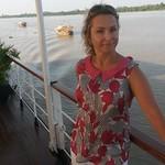Lenka Müller an Bord der RV Mekong Pandaw