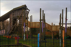 Where to Climb in Lockleaze (Canis Major) Tags: playground youth bristol wooden climbingframe playspace lockleaze