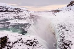 Gullfoss Waterfall - Iceland (Christopher Pope Photography) Tags: water waterfall iceland gullfoss gullfosswaterfall