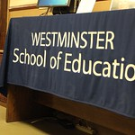 Westminster School of Education banner