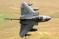 SEEK AND DESTROY (Dafydd RJ Phillips) Tags: sqn 41 marham raf force air royal loop mach level low snowdonia wales swept tornado gr4 panavia combat military aviation ebq