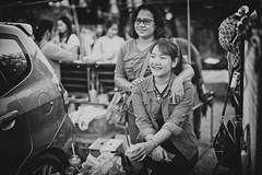 Thai Girls (♥siebe ©) Tags: 2016 thai thailand ประเทศไทย เมืองไทย ไทย girl blackandwhite ผู้หญิง