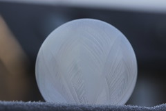 Frozen soap bubble (Björn S...) Tags: seifenblase soapbubble bulledesavon bolladisapone pompadejabón frost ice eis