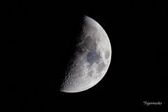 Handheld moon shot (Tigermoto) Tags: moon hand held 600mm sigmasport sigma handheld 6d canon