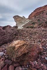 Reminiscence (Pablo Moreno Moral) Tags: duna fosilizada volcanic volcanica red white rojo blanco magmático paisaje cabo de gata almería nikon d810