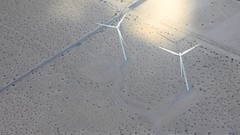 Wind from the Plane (m.gifford) Tags: palmsprings california december 2016 sun wind windpower renewables energy